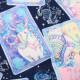 生地 絵子猫(エコネコ)オックス タロットカード柄