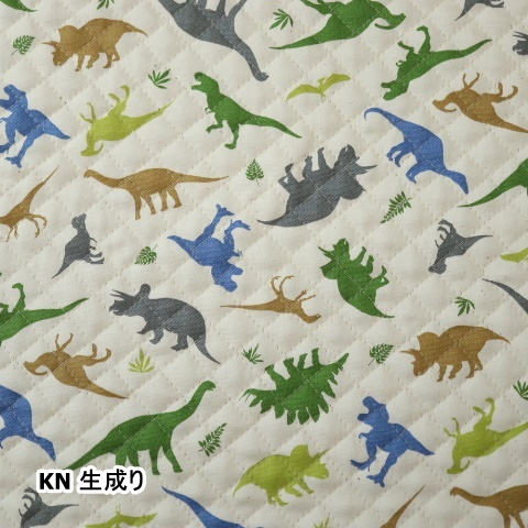 オックスプリント【キルト】 恐竜柄DK-Q-011(50cm単位)