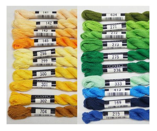 コスモ【5番】刺繍糸