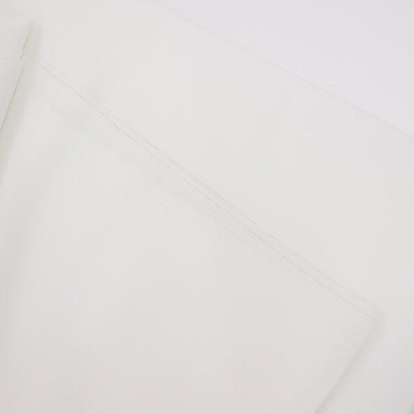 【訳あり生地】 ハスケル接着芯 ジャケット・スーツ用 白【2m】