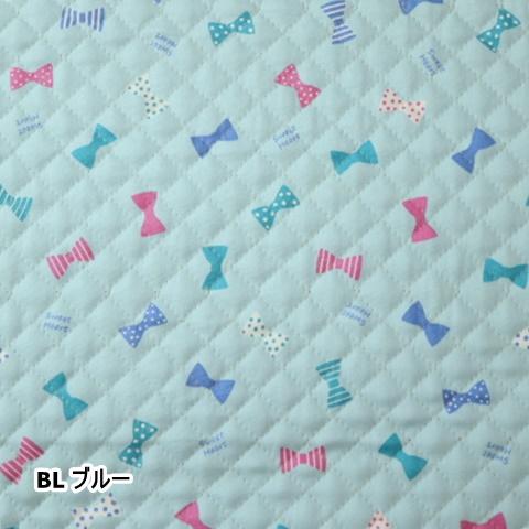 オックスプリント【キルト】リボン柄DK-Q-016(50cm単位)