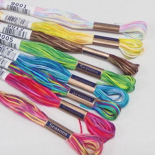 コスモ 25番刺繍糸【Seasons9000番】