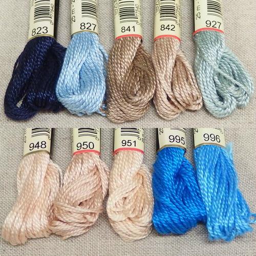 DMC 5番刺繍糸【コットンパール】