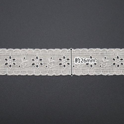 ハーフリネンレースRHLF-1(50cm単位)