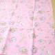 生地 DRMサンリオ オックス リトルツインスターズ(キキララ) メリーゴーランド柄ピンク【50cmカットクロス】
