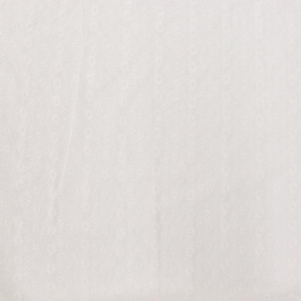 生地 アイレットレース フラワー柄 ダスティカラー
