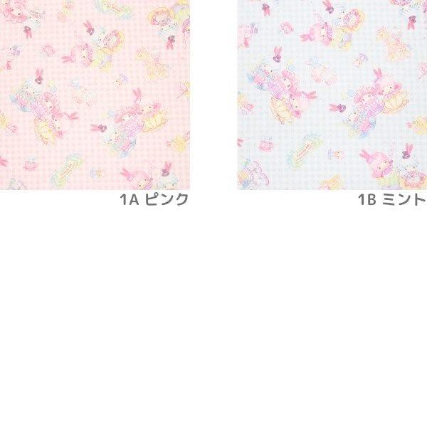 (2021新作)生地 絵子猫(エコネコ)ブロード【キルト】エコネコ&キキララマイメロ柄