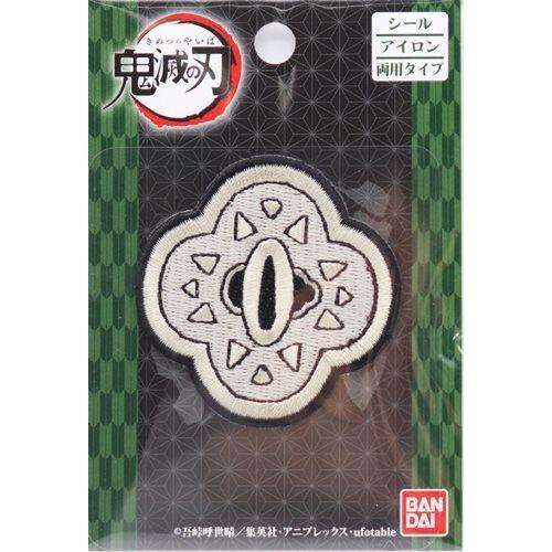 鬼滅の刃 羽織 鍔(つば)ワッペン(1ケ入)