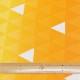 ブロードプリント 鱗(うろこ)柄(イエロー系) (50cm単位)