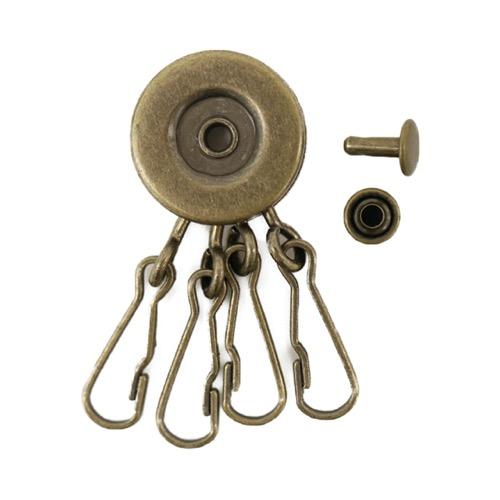 回転キーホルダー 1ケ入り 約21×50mm
