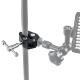 GoPro カメラ 対応 アクセサリー スーパー クランプ デジタルカメラ アクションカメラ ウェアラブルカメラ デジカメ 挟む 取付パーツ 固定 バイク 自転車 走行 撮影 照明 機材 パイプ ハンドルバー 蟹 はさみ クリップ