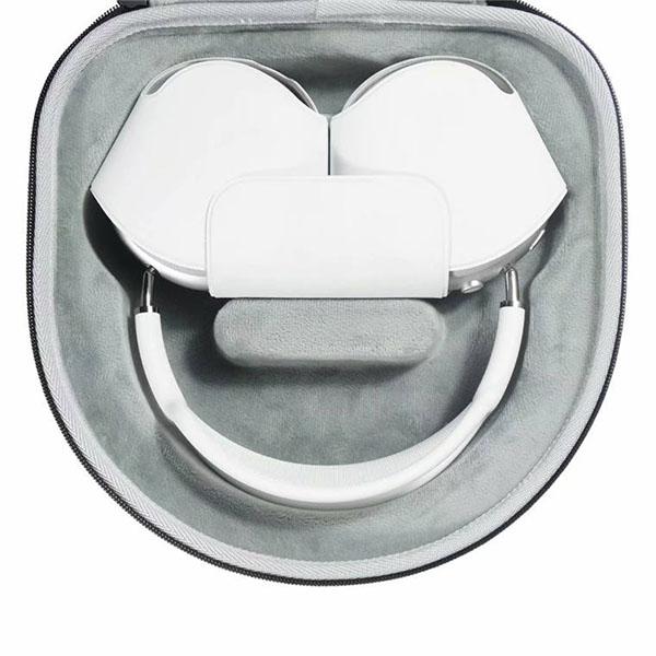 ヘッドホン AirPods Max エアーポッズマックス 用 アクセサリー 保護 ケース ポータブル 持ち運び 衝撃 吸収 エアポッズ マックス 収納 キズ 防止 便利 タフ 耐衝撃 EVA 素材 鞄 バッグ ポーチ キャリ- ケース 収納ケース カバー おしゃれ エアーポッツ エアポッツ