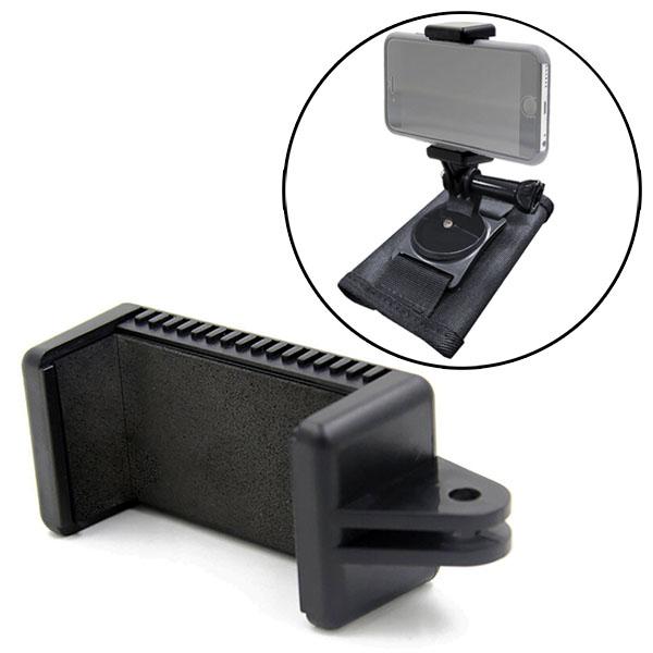 スマホ スマートフォン 携帯 リュック バックパック マウント ホルダー アクセサリー セット 鞄 取り付け スタンド 固定 安い セール 取付 可能 GoPro 8 ゴープロ カメラ アンドロイド アイフォン iPhone 対応