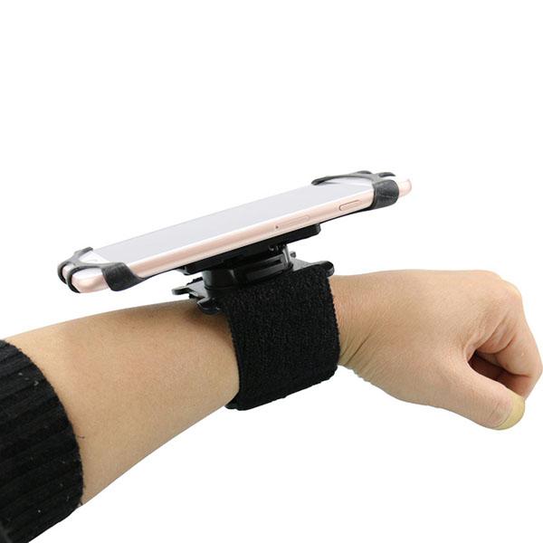 スマホ アーム リスト マウント 強力 ゴム 挟む 回転 ホルダー スマートフォン 携帯 腕 手首 取り付け 接続 スタンド セット ウーバーイーツ ランニング トレーニング ウーバー Uber Eats マルチ 万能 固定 リストバンド iPhone セール アンドロイド アイフォン
