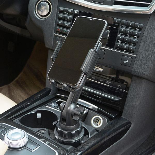 スマートフォン iPhone アイフォン 車 アクセサリー ドリンクホルダー 用 スマホ 伸縮 スタンド セット 携帯