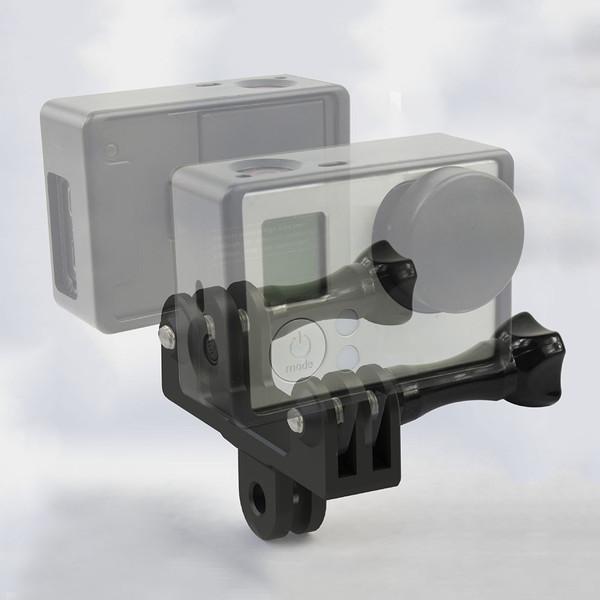 GoPro ゴープロ 9 8 7 対応 アクセサリー 前後 ツイン ジョイント T型 携帯 gopro9 gopro8 gopro7