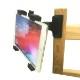 タブレット ホルダー クリップ マウント アクセサリー セット iPad アイパッド 車内 後部座席 ベビーカー スタンド テレワーク おうち時間 撮影 机 デスク 棚 パイプ クランプ 固定 挟む 安い セール マルチ 万能 アクションカメラ 1/4 ネジ 三脚ネジ  取付け 可能