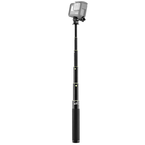 GoPro ゴープロ 9 8 7 対応 アクセサリー 6段 ロング セルカ スタンド アクションカメラ ウェアラブルカメラ gopro9 gopro8 gopro7