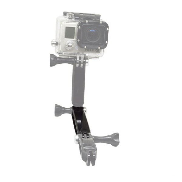 GoPro ゴープロ 9 8 7 対応 アクセサリー 延長 ジョイント I型 パーツ 長 アクションカメラ ウェアラブルカメラ gopro9 gopro8 gopro7