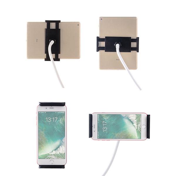 スマホ iPad タブレット アクセサリー ホルダー マウント スマートフォン 携帯 挟む 車載 アーム スタンド ジョイント パーツ アダプター 車 エアコン 吹き出し口 テレワーク おうち時間 取付 iPhone アンドロイド アイパッド Pro Air mini プロ エア ミニ
