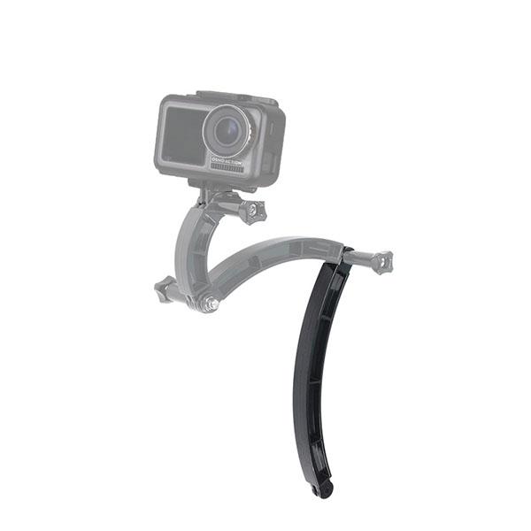 GoPro ゴープロ 9 8 7 対応 アクセサリー カーブ ジョイント R型 パーツ 長 アクションカメラ ウェアラブルカメラ gopro9 gopro8 gopro7