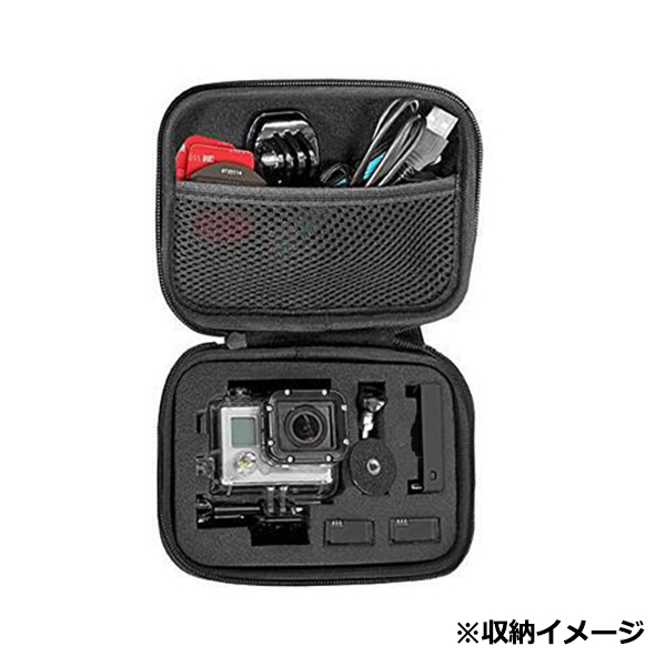 GoPro ゴープロ 9 8 7 対応 アクセサリー 収納 ケース アクションカメラ ウェアラブルカメラ gopro9 gopro8 gopro7