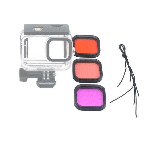 GoPro ゴープロ 9 用 アクセサリー 水中 撮影 用 カラー フィルター アクションカメラ ウェアラブルカメラ gopro9