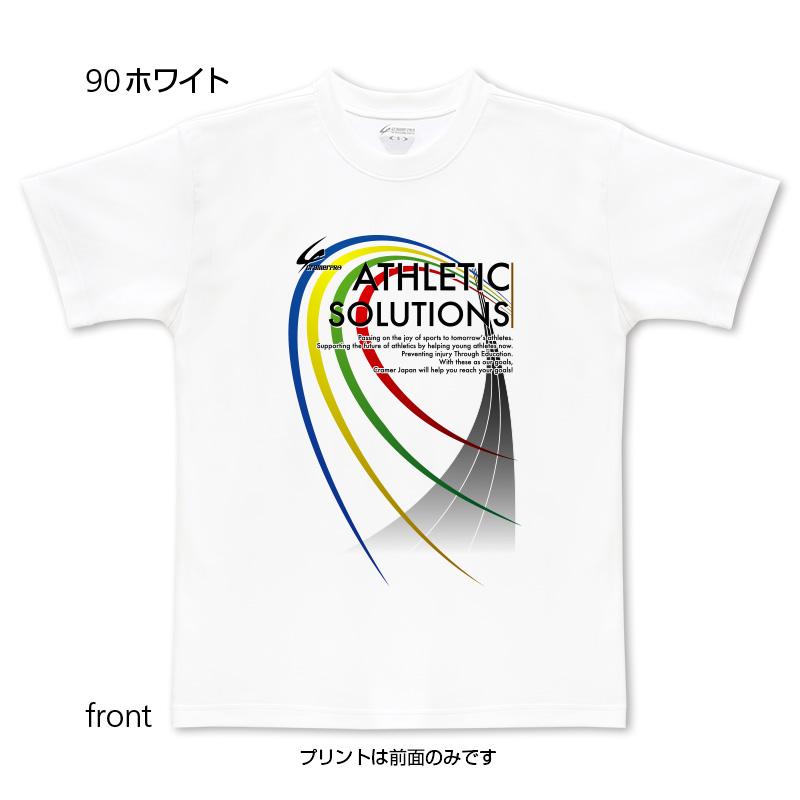 ATHLETIC(前面プリントTシャツ)