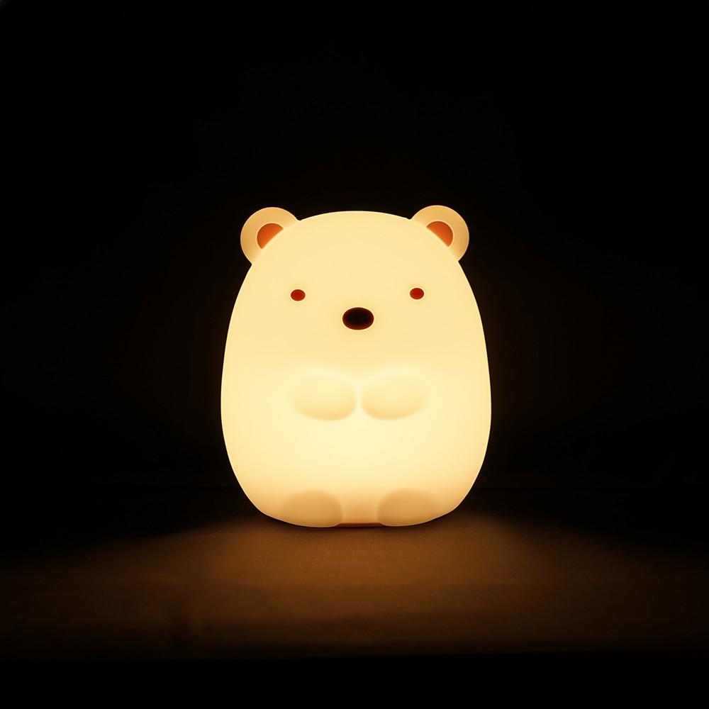 すみっコぐらしのおやすみライトミニ(しろくま)