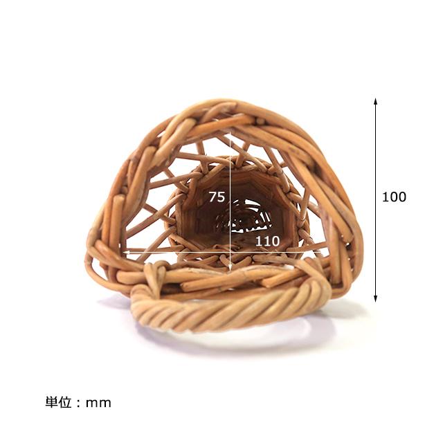 ウォール フラワーバスケット Lサイズ THE AROROG / アラログ