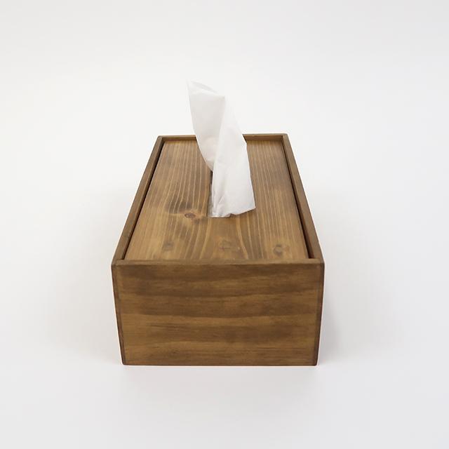 パイン ティッシュボックス