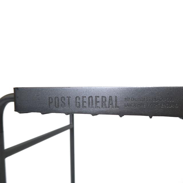 アイアンワゴン ウィズ ヘビーデューティーバ スケット ロング 3色 POSTGENERAL / ポストジェネラル