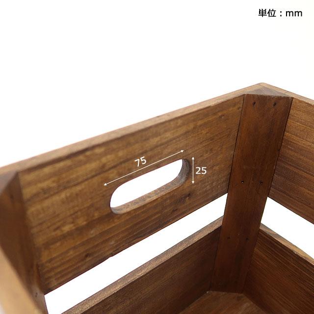 オールドパイン キャスターボックス Sサイズ NEIN MARKE / ナインマーケ