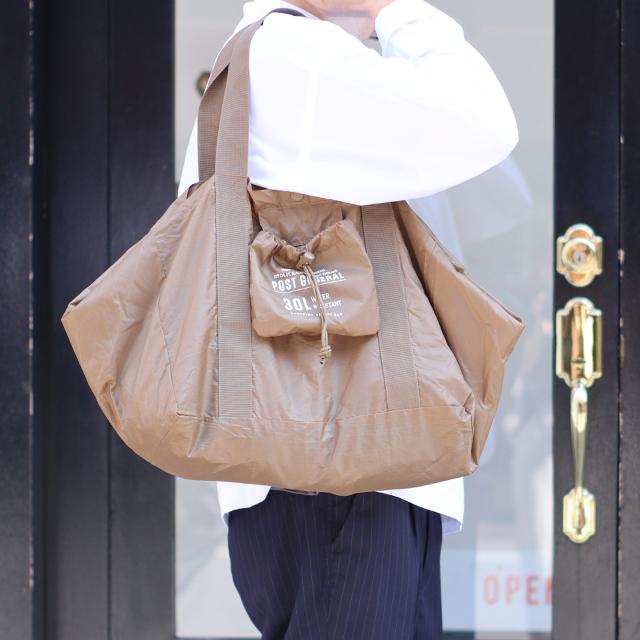 ※10/21再入荷後発送※Creerクレエ【POST GENERAL】ポストジェネラルパッカブルショッピングバスケットバッグ 4色