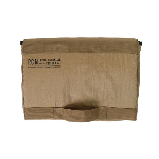 パラシュートナイロン ラップトップオーガナイザー 3色 POST GENERAL / ポストジェネラル WPL