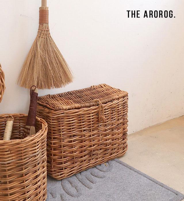 ふた付きスリムバスケット Lサイズ THE AROROG / アラログ WPL