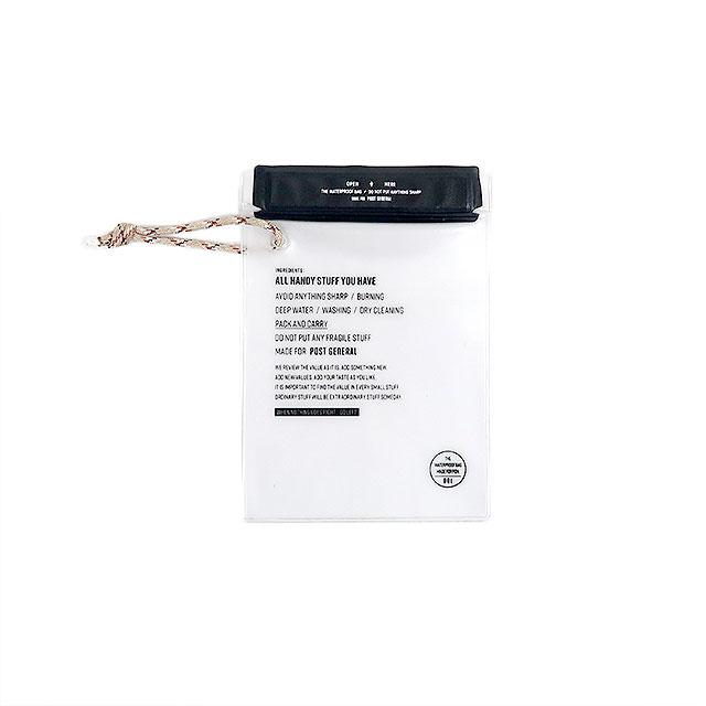 ウォータープルーフバッグ Sサイズ 3枚セット (3色) POST GENERAL / ポストジェネラル WPM