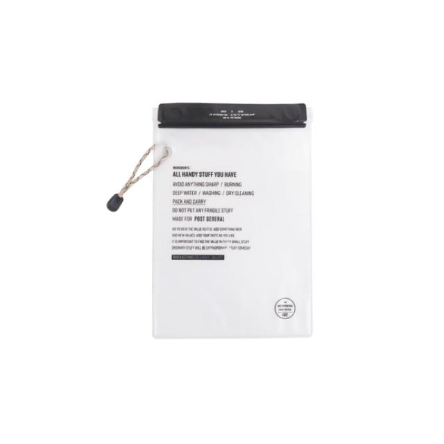 ウォータープルーフバッグ Mサイズ 2枚セット (3色) POST GENERAL / ポストジェネラル  WPM