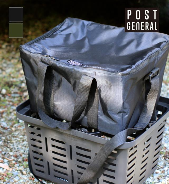 クーラーバッグ for HD BASKET (ブラック / オリーブ) POST GENERAL / ポストジェネラル WPL