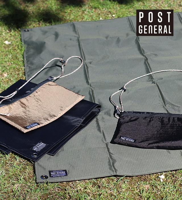 グランドシート&サコッシュバッグ POST GENERAL / ポストジェネラル