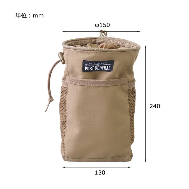 マルチパーパスハンギングバッグ Lサイズ POST GENERAL / ポストジェネラル WPM