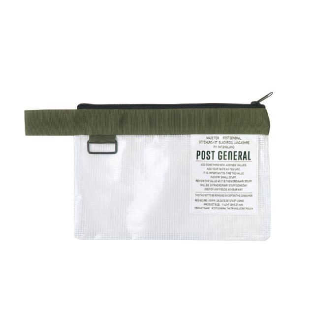 \梅雨対策グッズ/ ティーシーポーチ (4色) POST GENERAL / ポストジェネラル TC POUCH WPM