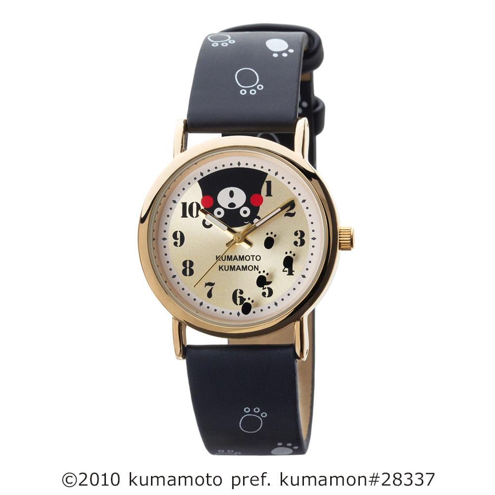 くまモン柄ウオッチ 腕時計 アナログウオッチ キャラクター【KM-AL082】