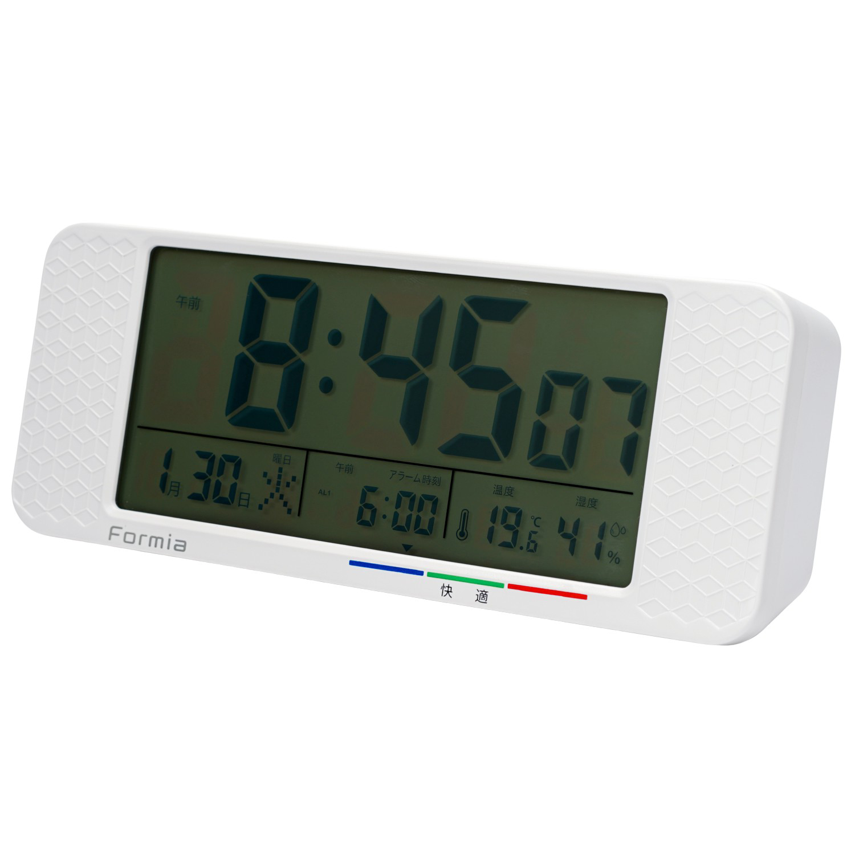 電波デジタル目覚まし時計【HT-013RC】