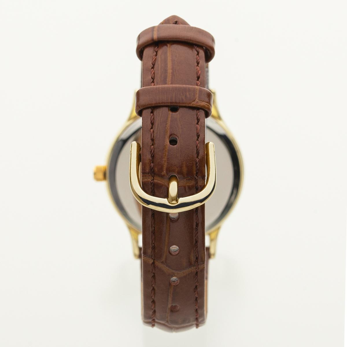レディースアナログウオッチ 腕時計 本革 ソーラー 10気圧防水 AVANTINO アヴァンティーノ【AV-AL172】【AV-AL172-WTG】