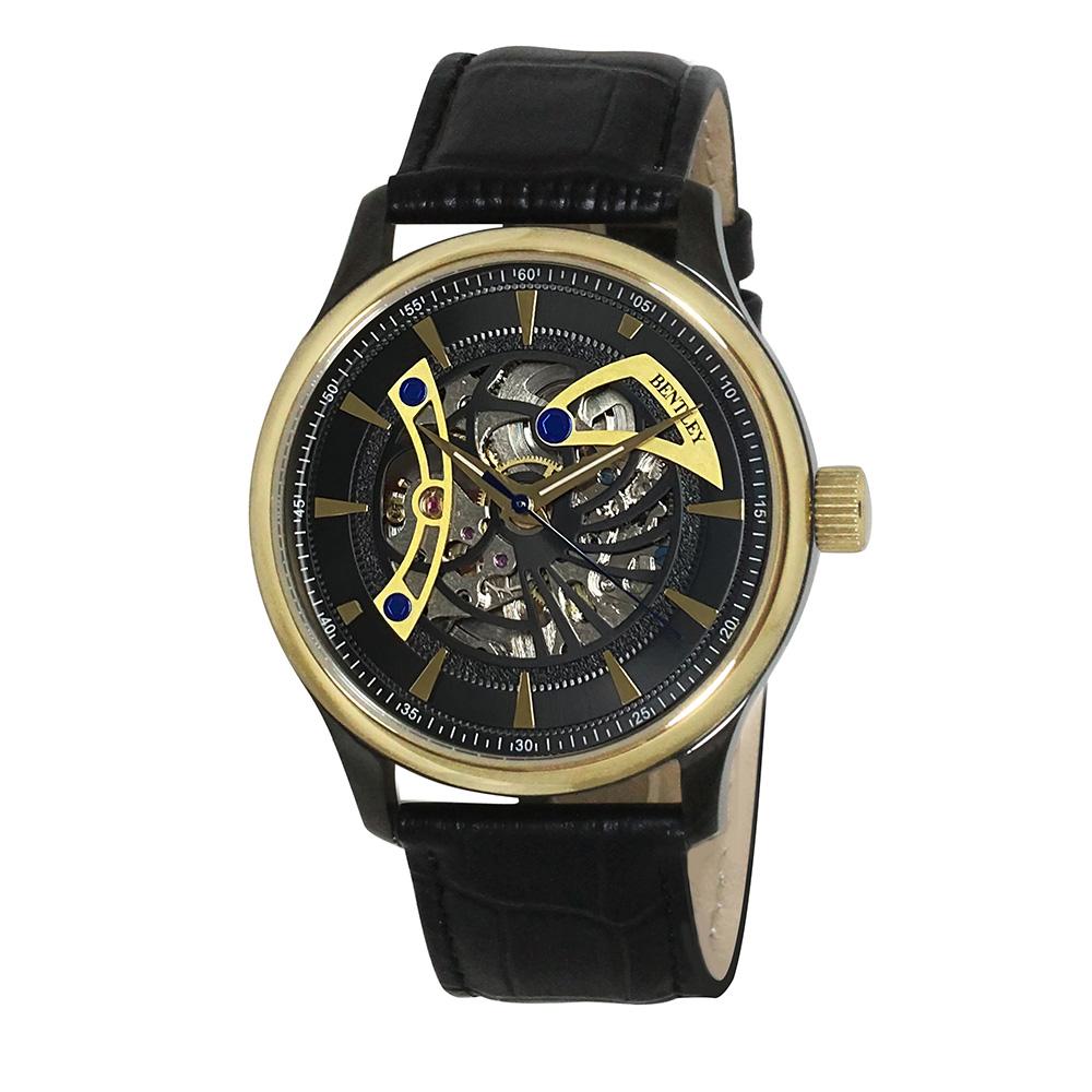 機械式腕時計 アナログウォッチ メンズ BENTLEY ベントレー【BT-AM075】