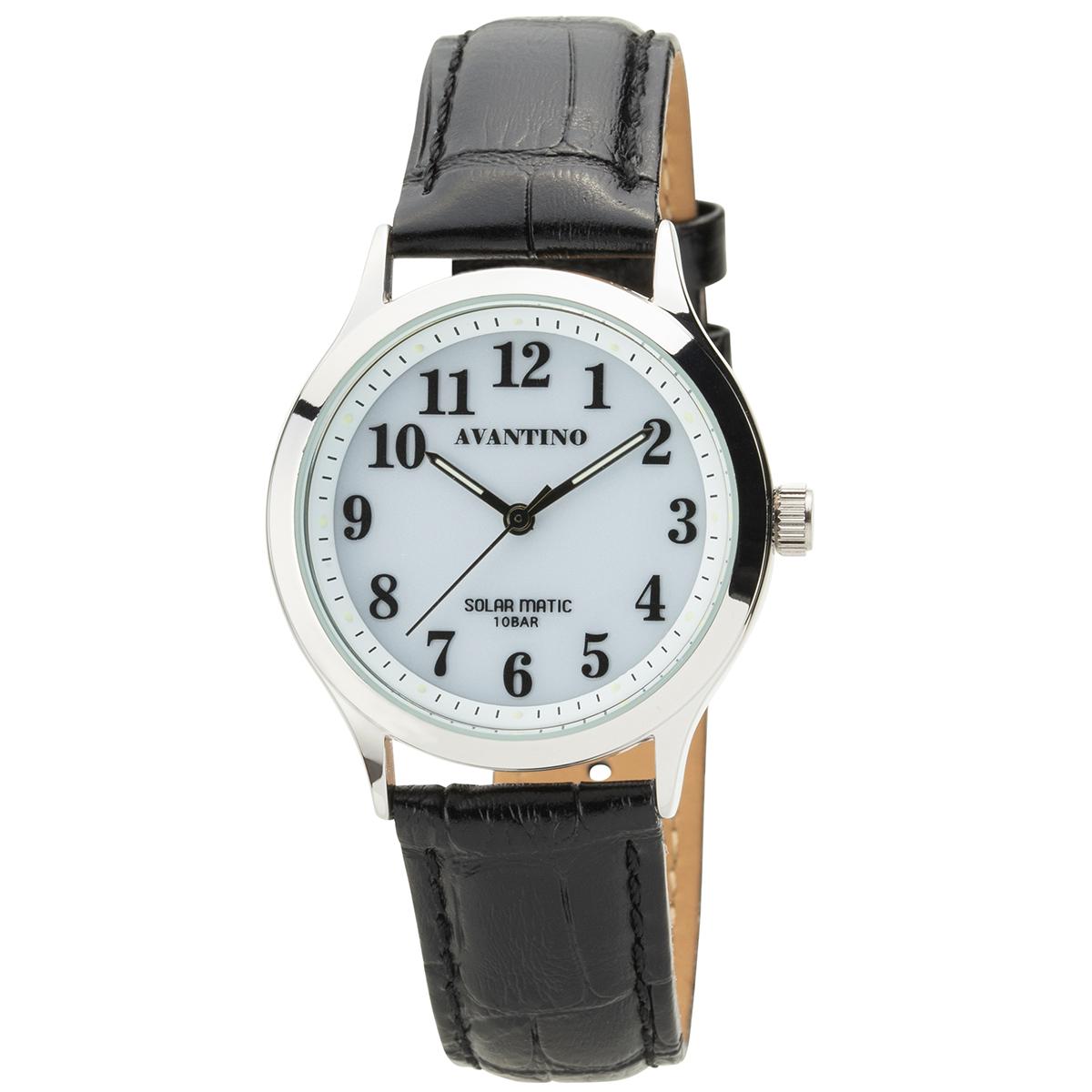 AVANTINO アヴァンティーノ 腕時計 アナログウオッチ 本革 メンズ【AV-AM171】【AV-AM171-WTS】