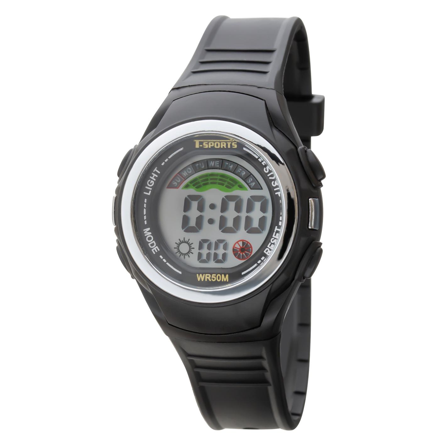 T-SPORTS ティースポーツ デジタルウオッチ 腕時計【TS-D158】