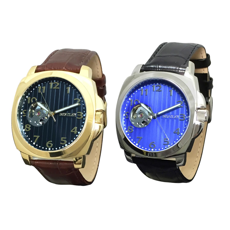 機械式腕時計 アナログウォッチ メンズ BENTLEY ベントレー【BT-AM079】