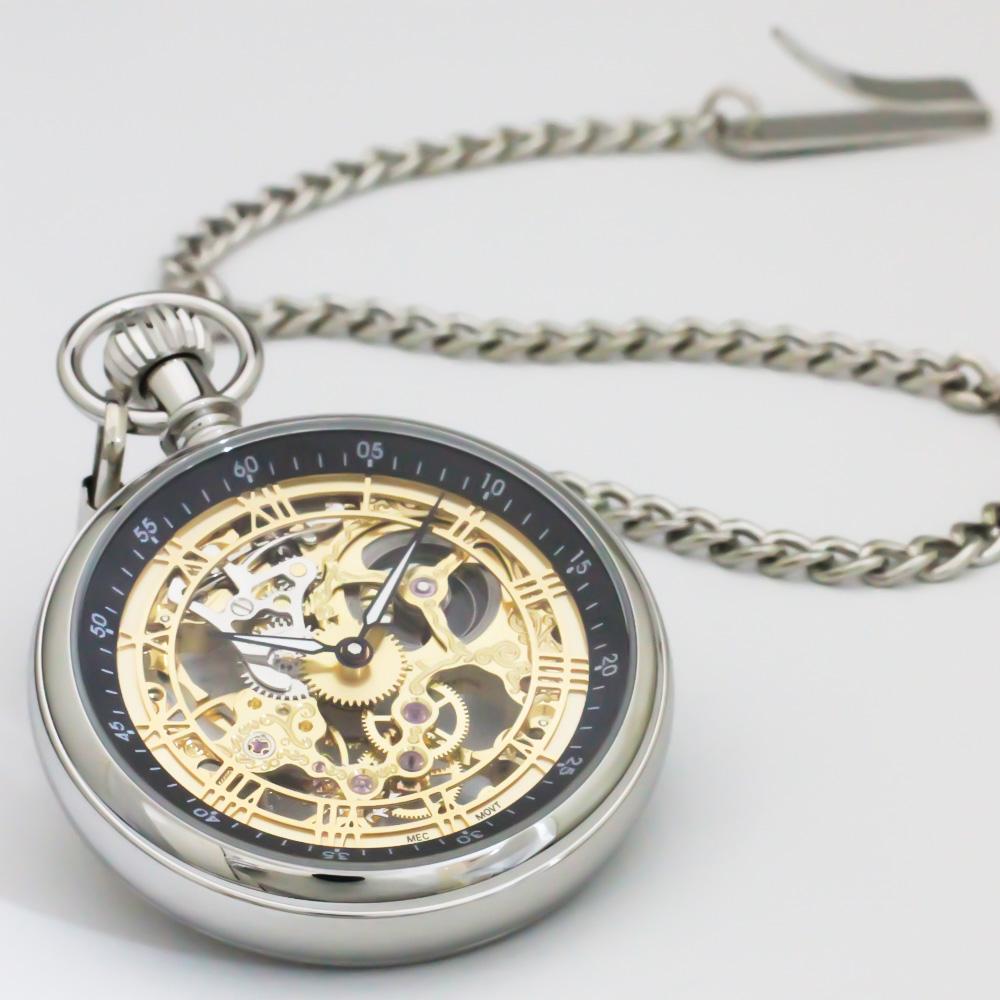 機械式懐中時計 手巻き式 BENTLEY ベントレー【BTY-4126】